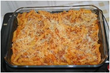 Macarrones al horno chef down - Macarrones con verduras al horno ...